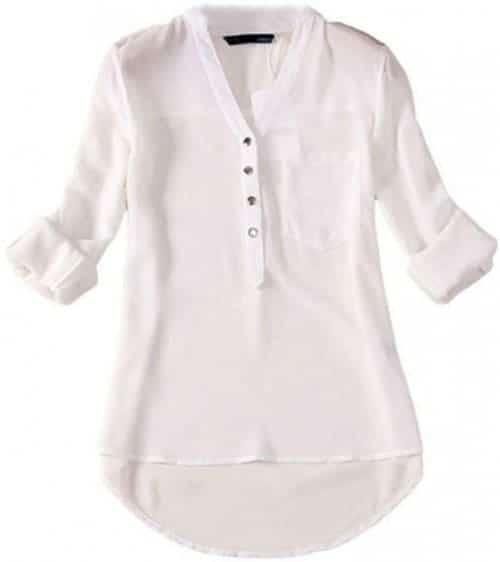 Front pocket long sleeved shirt
