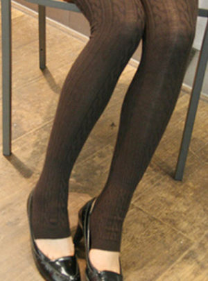 Stirrup style winter warmer leggings