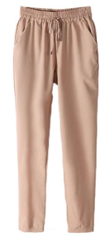Comfy full length harem pants