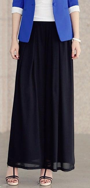 Oversized harem wide leg palazzo pants