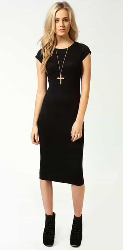efc1526b58b00 Women's Cap sleeve jersey bodycon midi dress for sale - Pretty Me ...