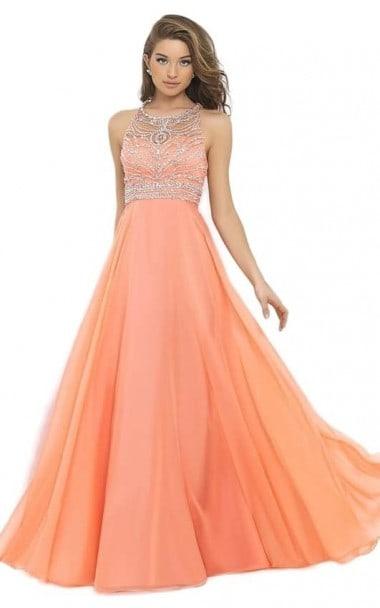 Sleeveless sequin evening maxi dress