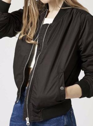 Autumn bomber jacket