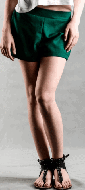 Chic high waist shorts