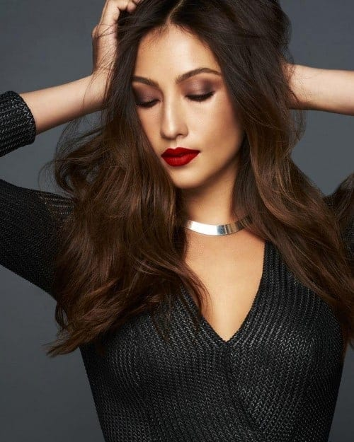 Solenn with Red Lips