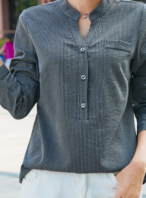 Autumn long sleeve shirt