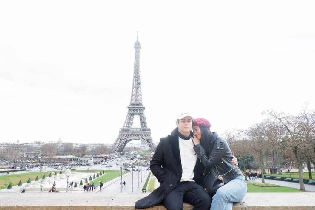Liza and Enrique Eiffel Tower
