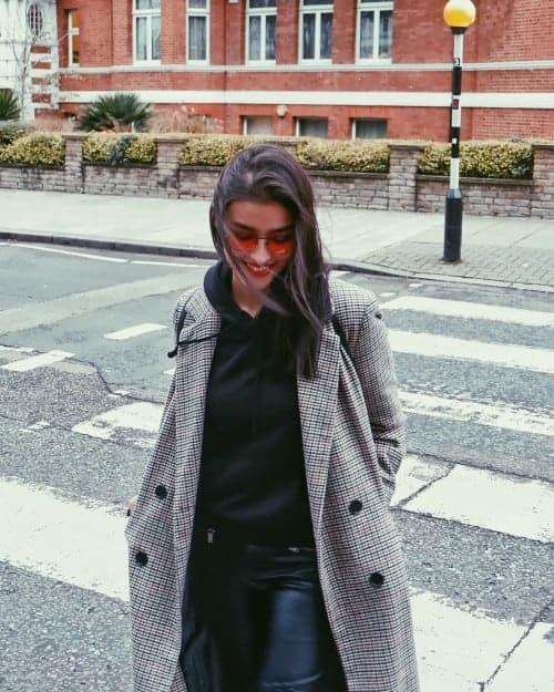 Liza Soberano Gingham Coat