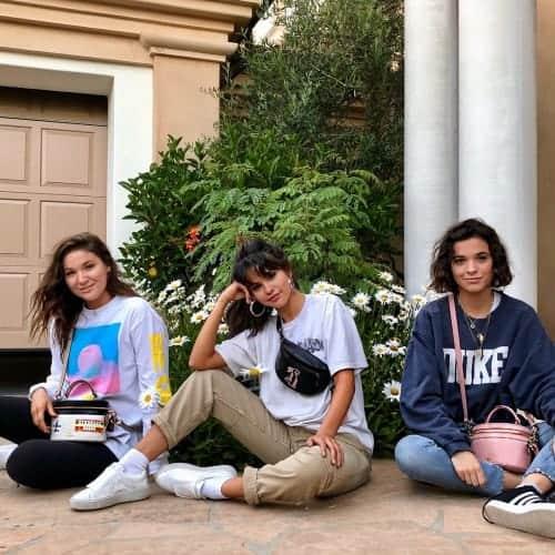 Selena Gomez casual bag style