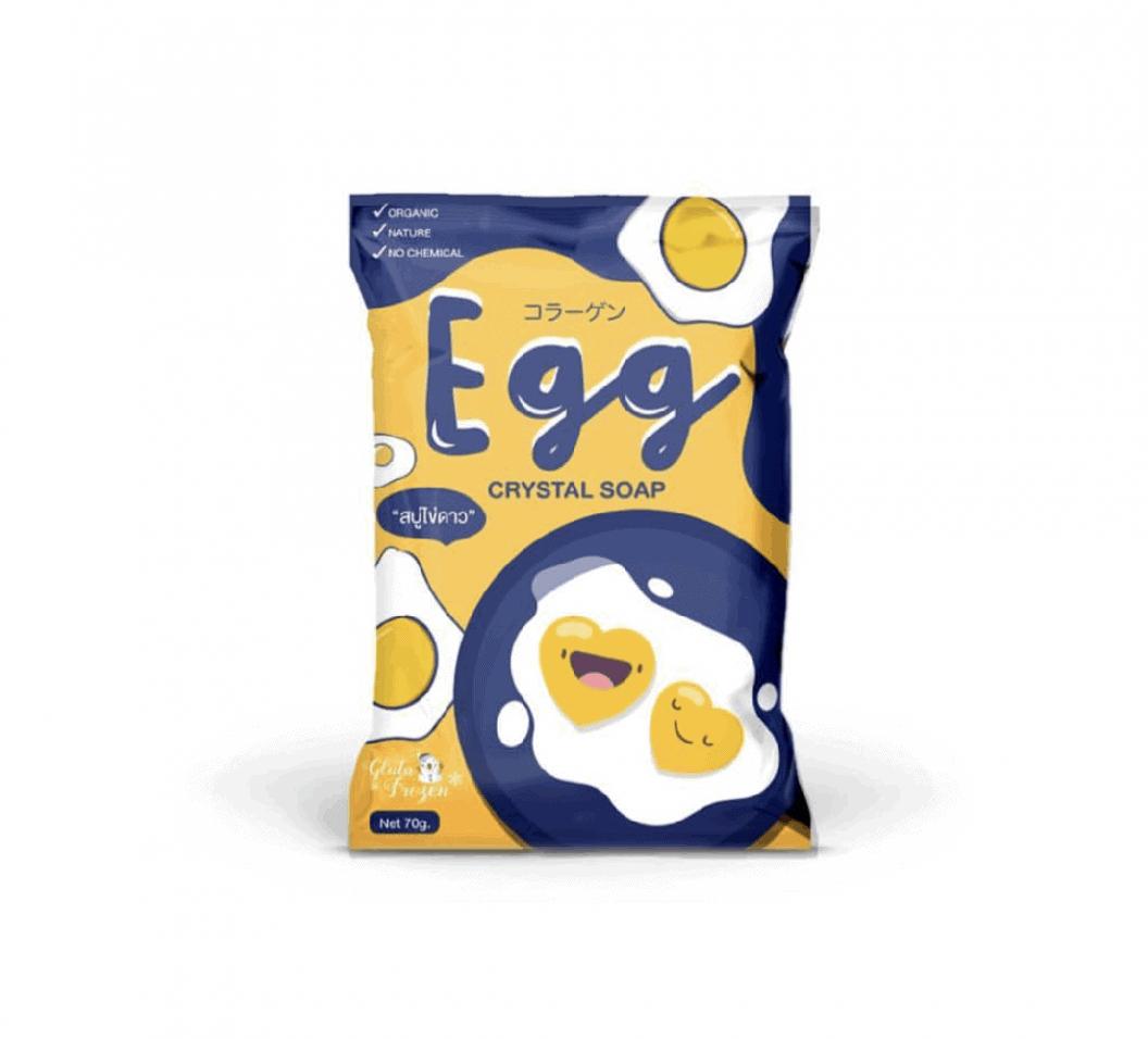 Egg Crystal Soap Packaging