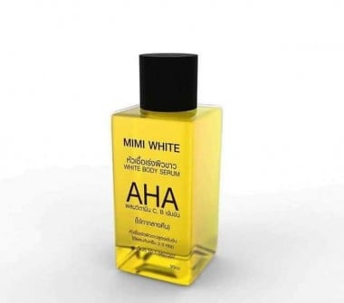 Aha Mini Serum Bottle