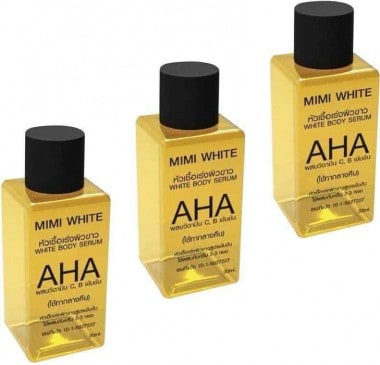 3 Bottles of Aha Mini Serum