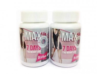 Max Slim Garcinia Bottles side by side