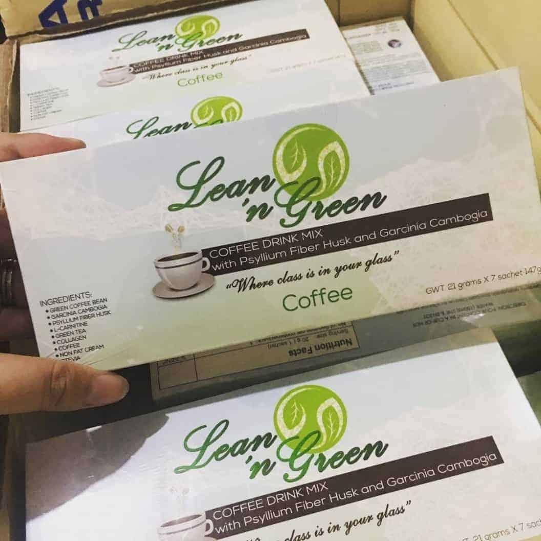 Lean N Green ingredients