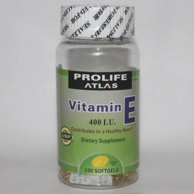 Prolife Atlas Vitamin E Bottle