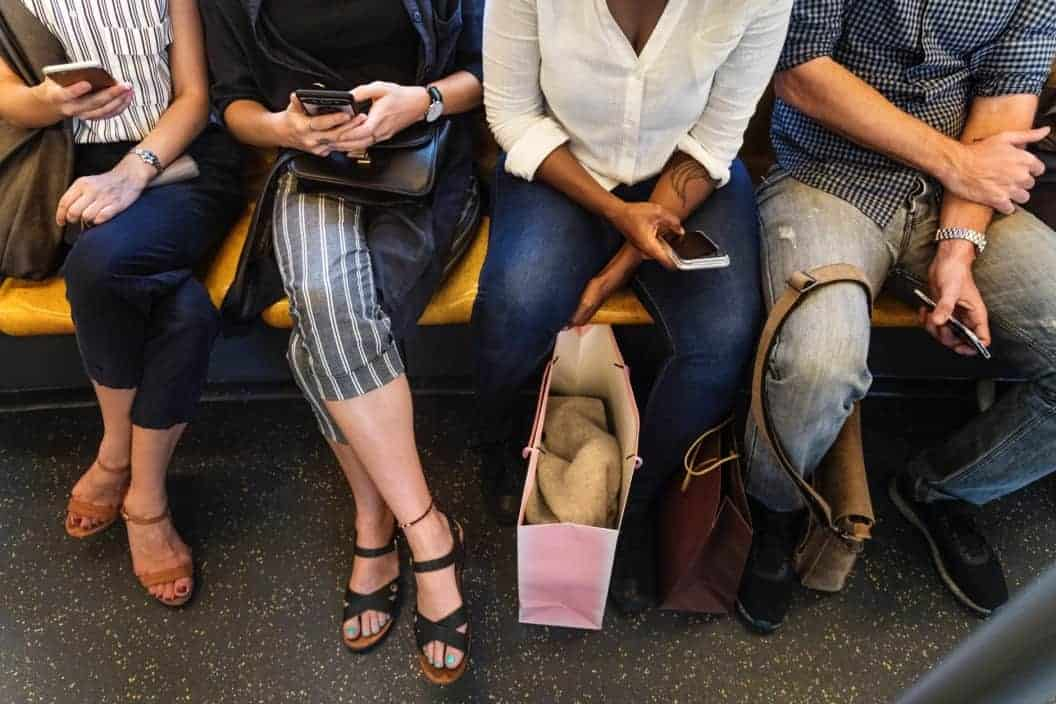 Shoes on the Subway