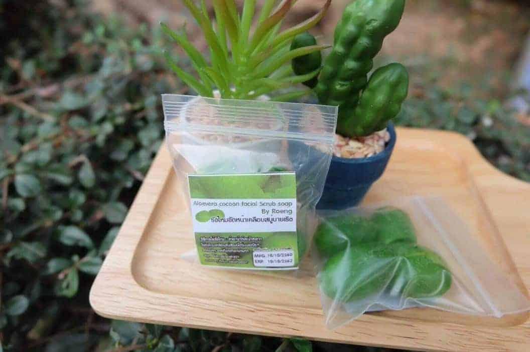 Aloe Vera Cocoon Soap Facial Scrub Soap 3