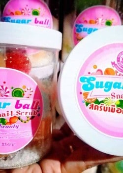 Sugar Ball Snail Scrub 1