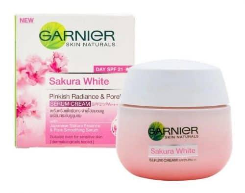 Garnier Sakura White Day Cream 2